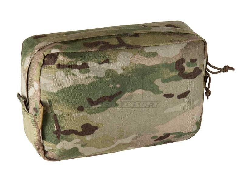 Warrior Large Horizontal Pouch Zipped Multicam