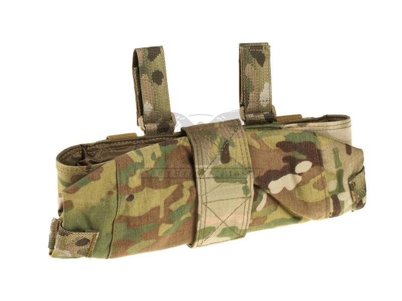 Warrior Large MOLLE Utility Pouch Zipped Multicam