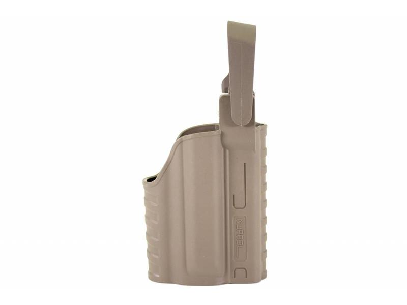 Nuprol EEU Series, Glock Light Bearing Holster Tan