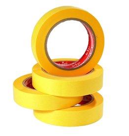 Master Kip afplaktape geel 25mm x 50m