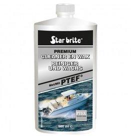 Star brite Starbrite Cleaner & Wax PTE 500ml