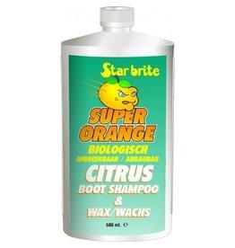 Star brite Starbrite citrus bootshampoo & wax 500ml