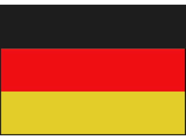 Lankhorst Taselaar vlag Duitsland 70 x 100cm