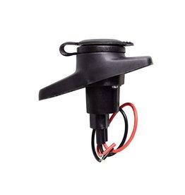 Talamex LED licht 360gr uitneemb. 61cm Zwart