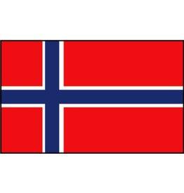 Faber Pro-Motion vlag Noorwegen 30 x 45cm