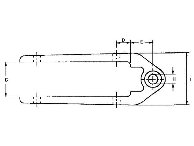 Ronstan RF2500 roerbeslag