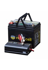 Rebelcell Rebelcell 12v 50Ah Angling li-ion Accu met li-ion 8A acculader
