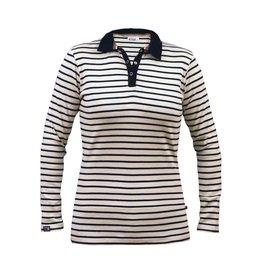 Breton Stripe Breton Stripe Lady Long Sleeve Polo