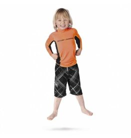 Magic Marine Magic Marine Cube Rash Vest (kids), lange mouw, oranje