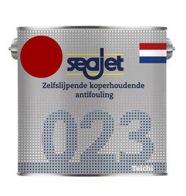 Seajet Seajet 023 koperhoudende antifouling 2,5ltr rood