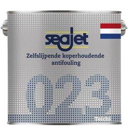 Seajet Seajet 023 koperhoudende antifouling 2,5ltr roodbruin