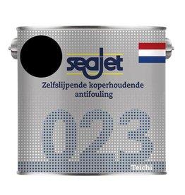 Seajet Seajet 023 koperhoudende antifouling 2,5ltr zwart
