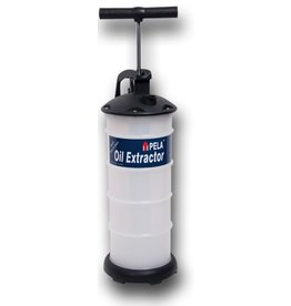 Pela 400 oil extractor 4ltr cilinder
