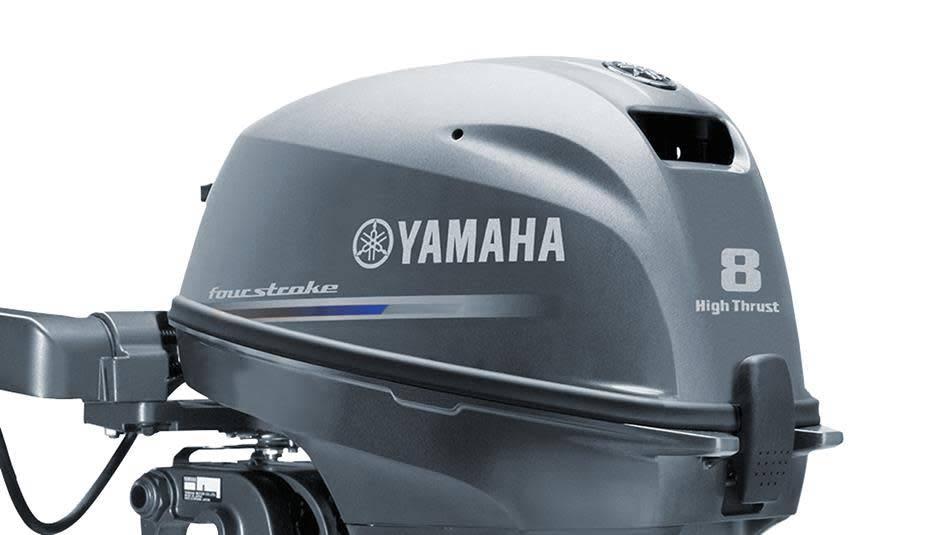 Yamaha Yamaha 8 pk High-Thrust langstaart met elektrische start