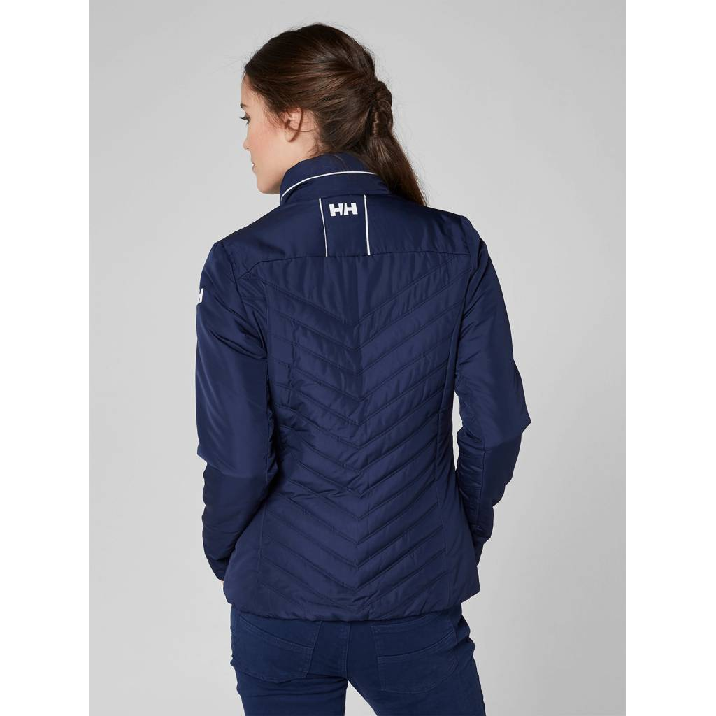 Helly Hansen HH Crew insulator jacket dames Evening Blue