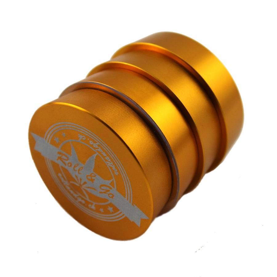 Roll & Go Goldener CNC Alu Grinder