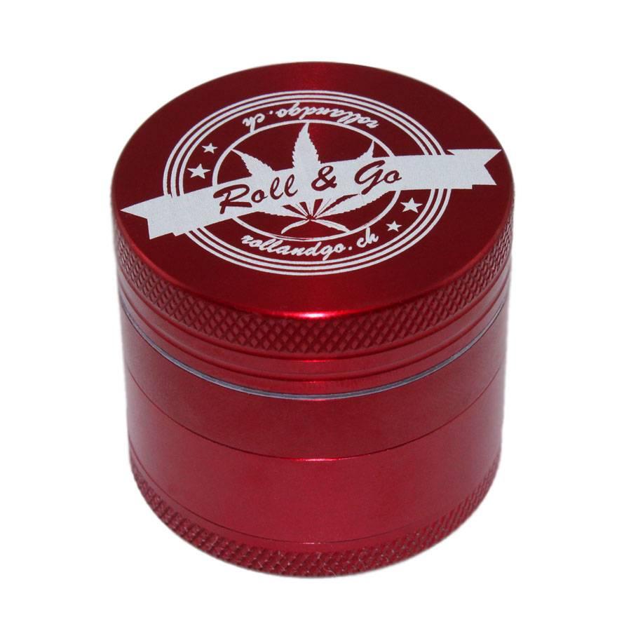 Roll & Go  Red CNC Alu Grinder