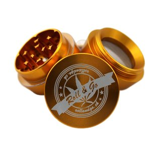 Roll & Go Grinder Gold Trapez
