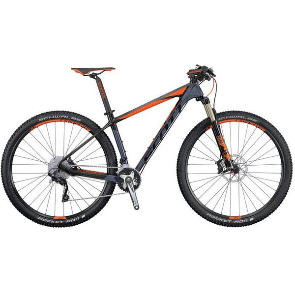 Scott Scale 730 2016  -  XT og  FOX32 på superlett ramme