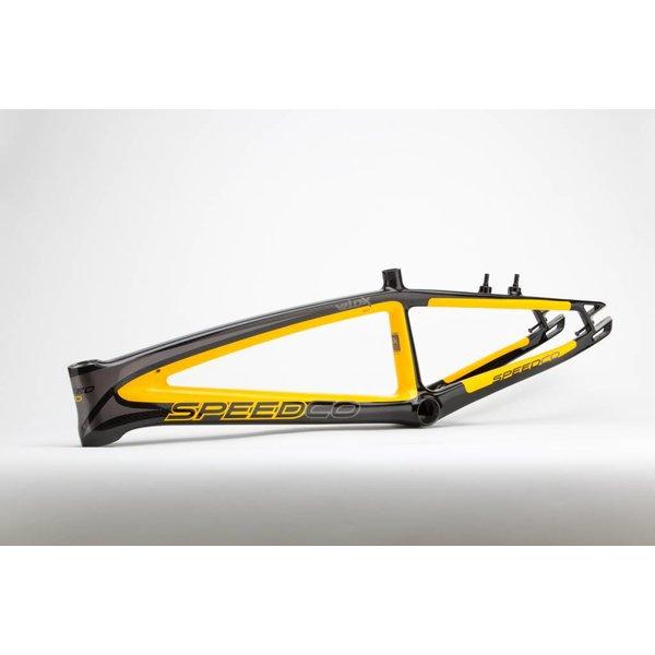 Speedco Velox Carbon Rammekit BMX Gul