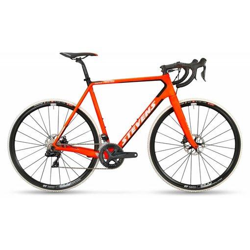 Stevens Bikes Stevens Super Prestige Disc Di2 CX Fire Orange 18