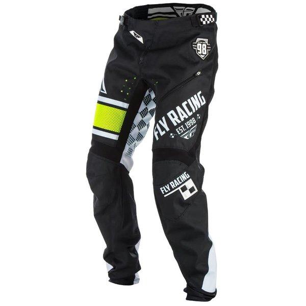 Fly Kinetic 18 Bukse Sort/Hvit/Neon