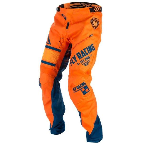 Fly Kinetic 18 Bukse Oransje/Navy