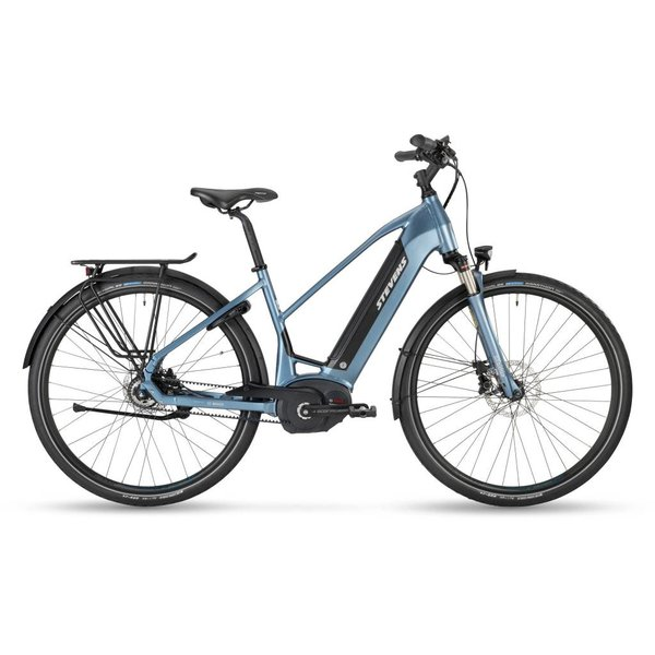 Stevens E-Courier Luxe 500Wh Mineral Grey 18 Lady