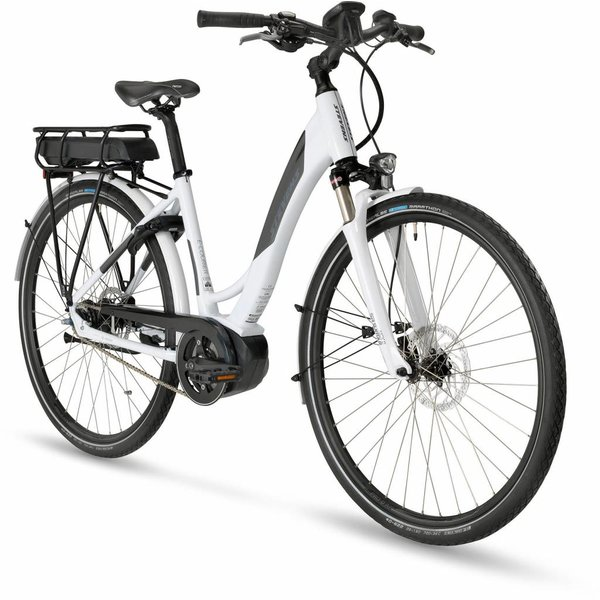 Stevens E-Courier 18 Lady Carrara White