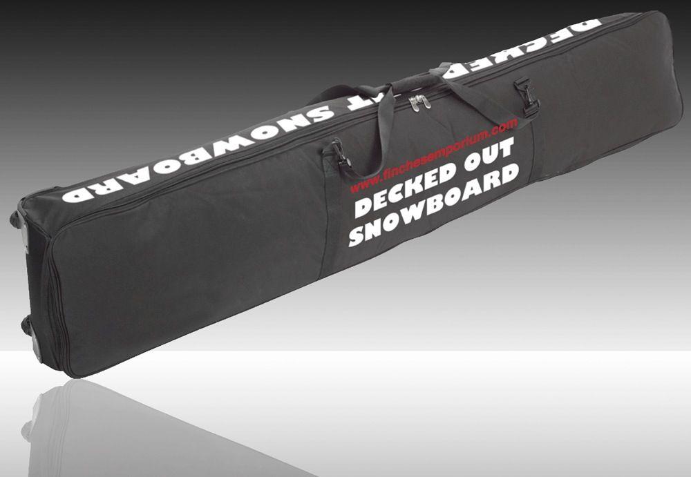 DeckedOut Wheelie Snowboard Bag