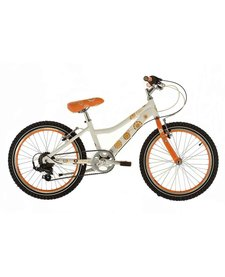 Raleigh Chic 20/11 White/Orange Junior Bike,