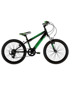 Raleigh Tumult 20/11 Black/Green Junior Bike