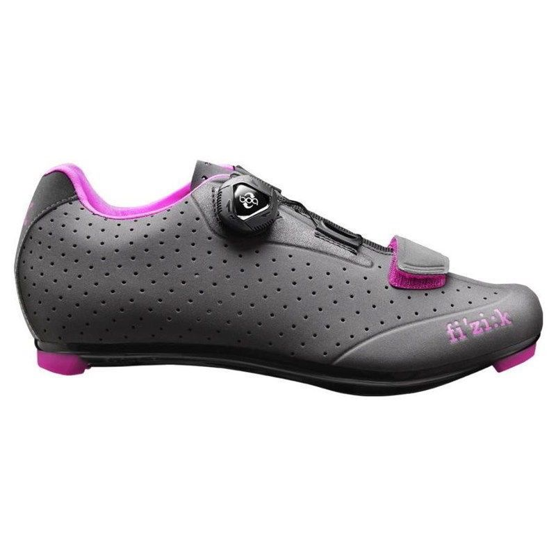 Extra Fizik R5B Womens Road Shoe Grey/Pink