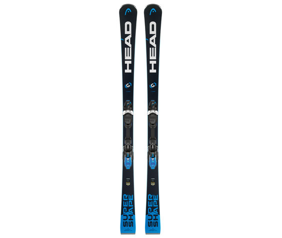 Head Head Supershape i.Titan Ski inc PRX 12 Binding