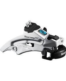 FD-TX800 Tourney TX front derailleur, top swing, dual pull, for 42/48T, 63-66