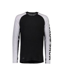 Mons Royale Temple Tech Mens LS Geo