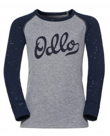 Odlo L/S Crew Neck Warm Kids