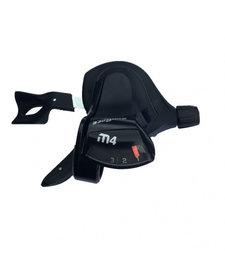 Sunrace M400 3spd Trigger Shifter Front