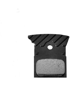 L02A disc brake pads, alloy backed with cooling fins, resin