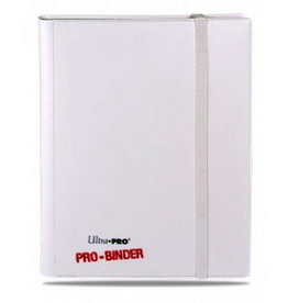 UP - Pro Binder UP - Pro-Binder - 9-Pocket Portfolio - White on White