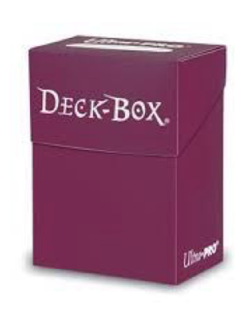 UP - Deck Box Solid UP - Solid Deck Box - Non Glare - Blackberry