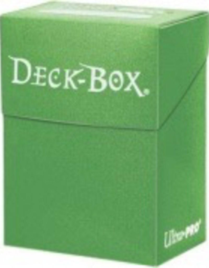 UP - Deck Box Solid UP - Deck Box Solid - Lime Green