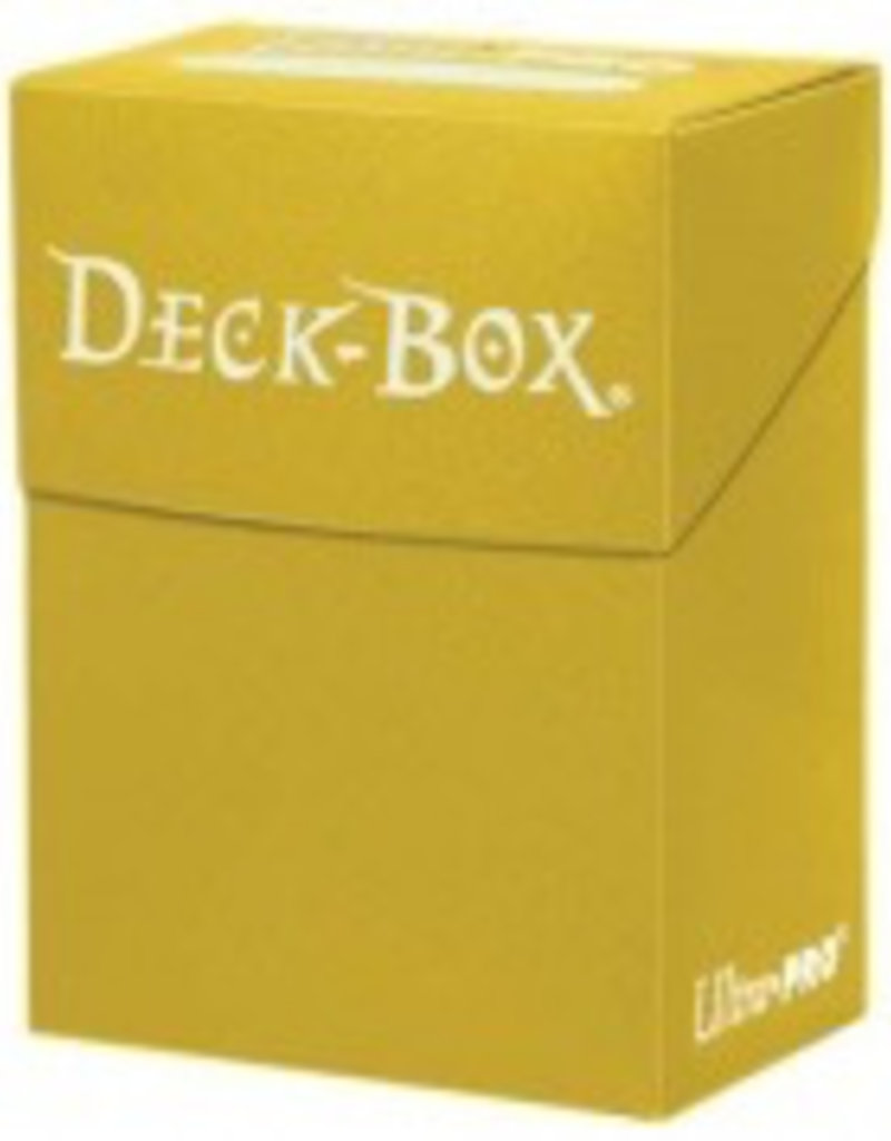 UP - Deck Box Solid UP - Deck Box Solid - Yellow
