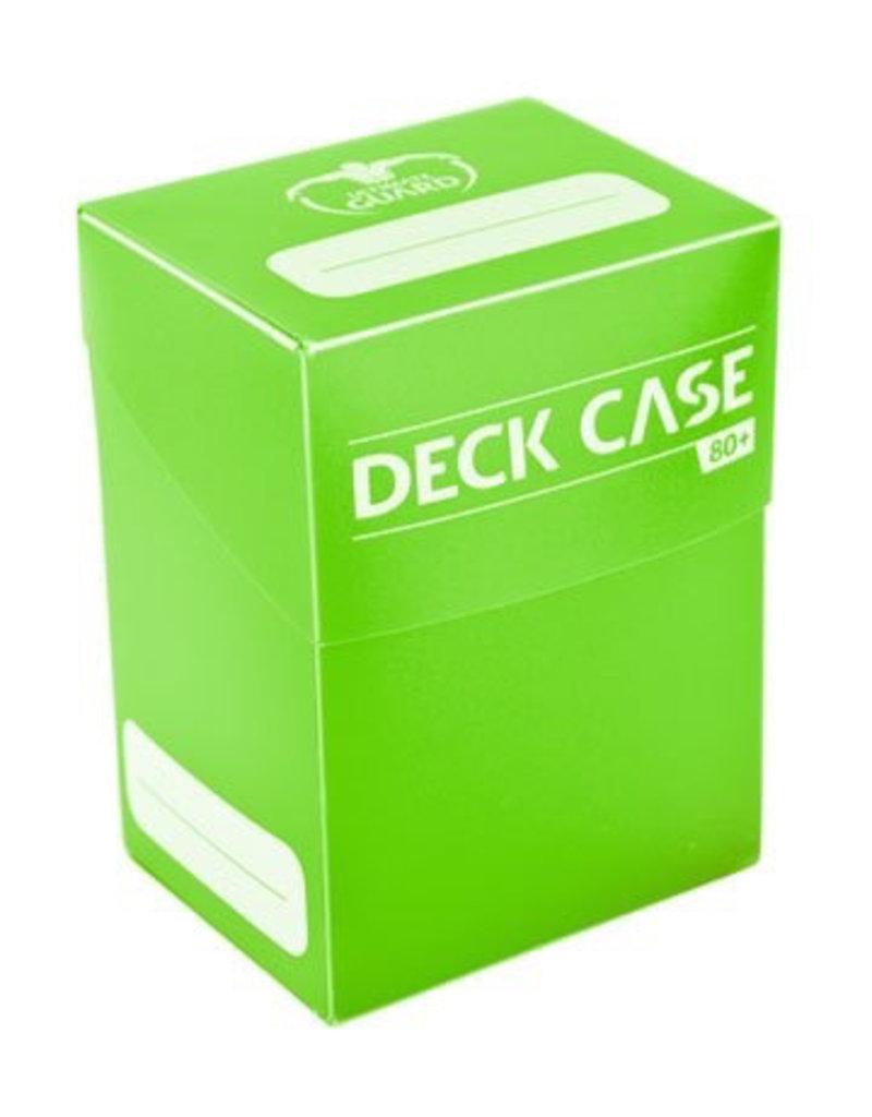 UG - Deckboxen Ultimate Guard Deck Case 80+ Standardgrösse Hellgrün