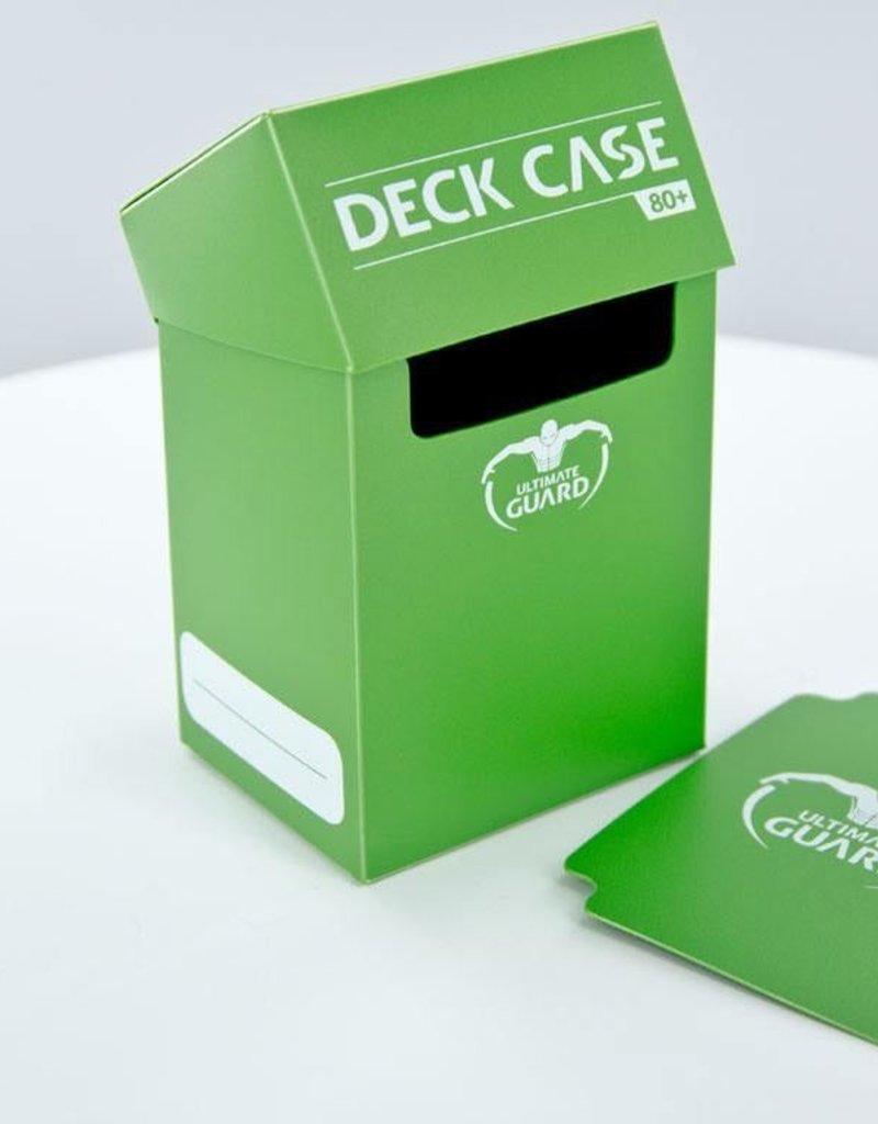 UG - Deckboxen Ultimate Guard Deck Case 80+ Standardgrösse Grün