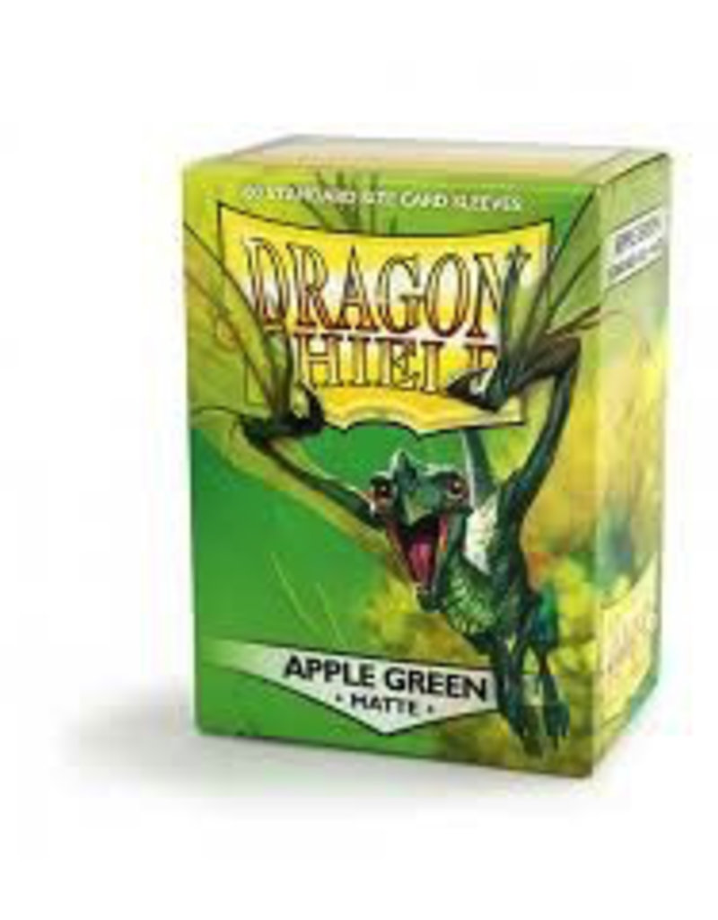 DS - Standard Sleeves Dragon Shield Standard Sleeves - Matte Apple Green (100 Sleeves)