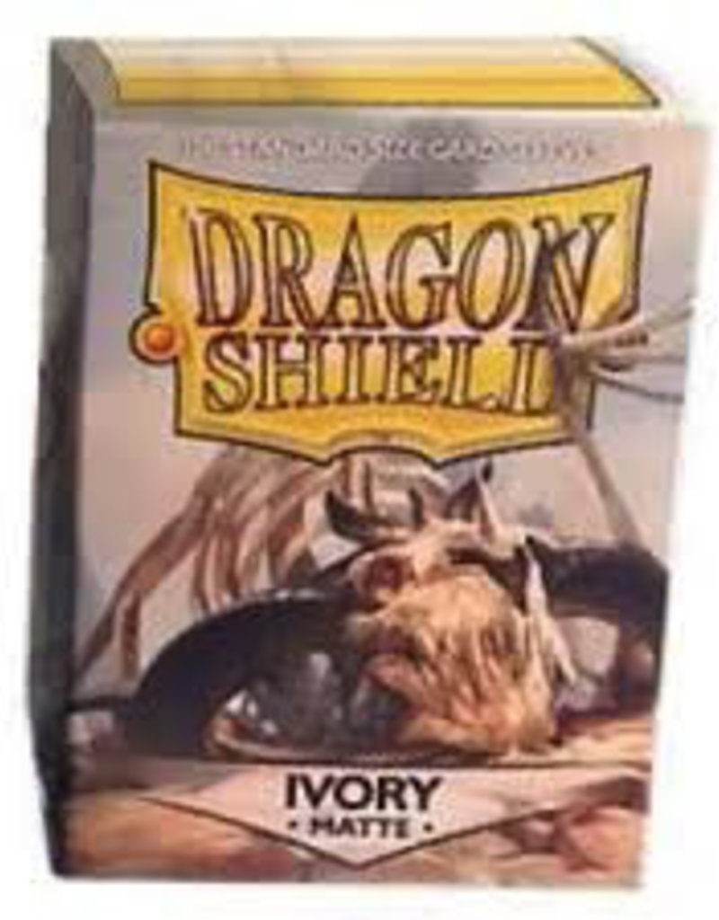 DS - Standard Sleeves Dragon Shield Standard Sleeves - Matte Ivory (100 Sleeves)