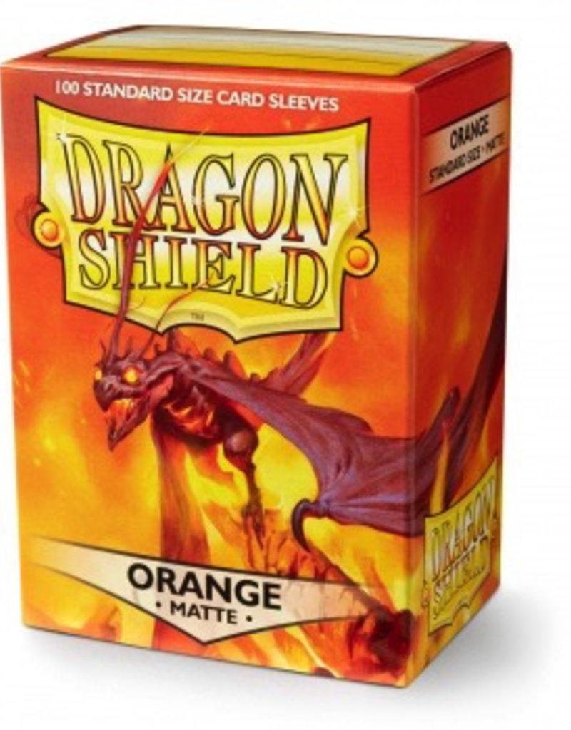 DS - Standard Sleeves Dragon Shield Standard Sleeves - Matte Orange (100 Sleeves)