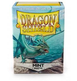 DS - Standard Sleeves Dragon Shield Standard Sleeves - Matte Mint (100 Sleeves)