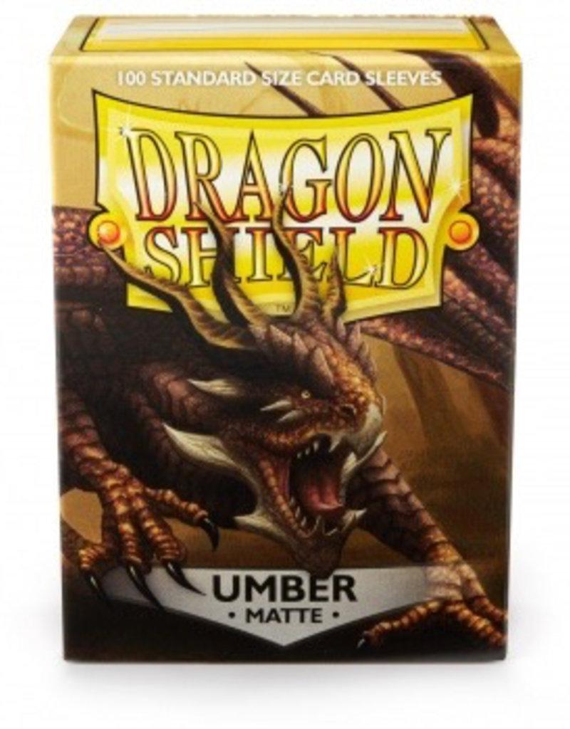 DS - Standard Sleeves Dragon Shield Standard Sleeves - Matte Umber (100 Sleeves)
